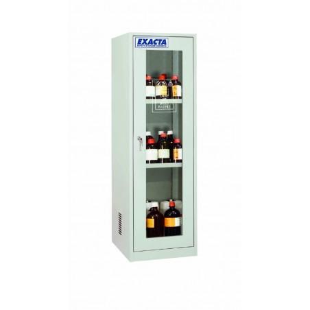 Armoire de stockage pour produits chimiques 1 porte vitrée