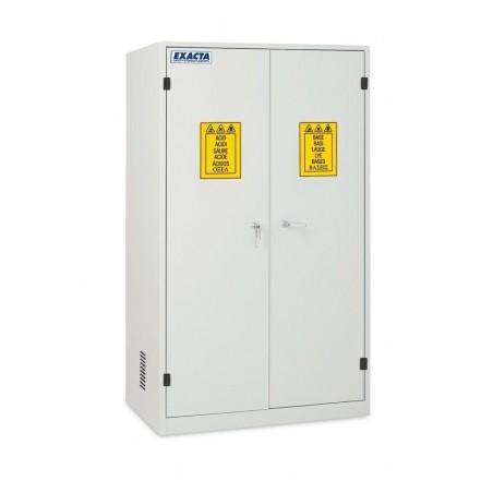 Armoire de stockage produits chimiques et corrosifs 2 portes