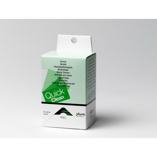 Recharge lingettes hygiéniques QuickClean PLUM