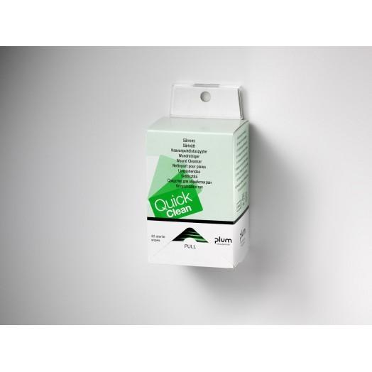 Distributeur lingettes QuickClean PLUM