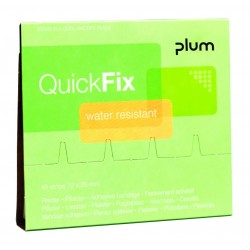 Recharge pansements étanches QuickFix PLUM