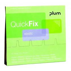 Recharge pansements élastiques QuickFix PLUM