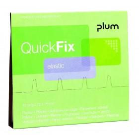 Recharge pensements élastiques QuickFix PLUM