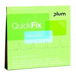 Recharge pansements détectables QuickFix PLUM