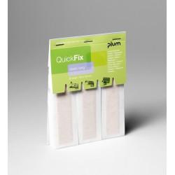 Recharge pansements élastiques longs QuickFix PLUM