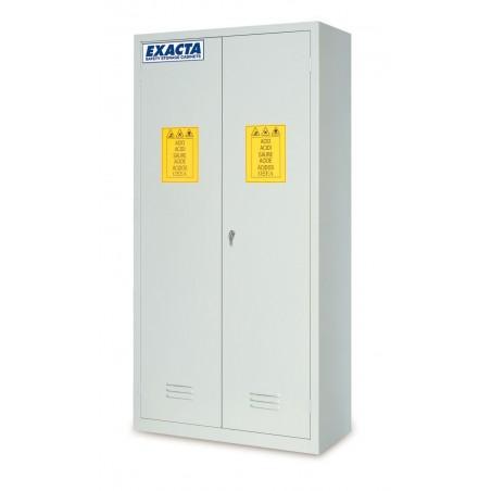 Armoire haute de stockage pour produits chimiques et corrosifs 2 portes