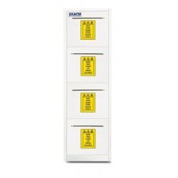 Armoire PP pour stockage produits chimiques et corrosifs
