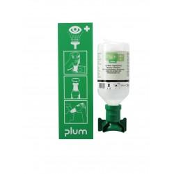 Station de lavage oculaire 1 flacon PLUM