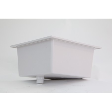 Cuve polypropylène 45x45 cm