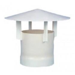 Sortie cheminée PVC