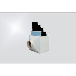 Caisson de filtration pour solvants