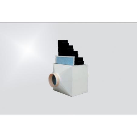Caisson de filtration vide simple action
