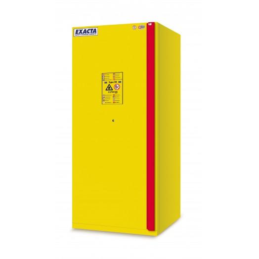 Armoire de stockage produits inflammables L600 jaune