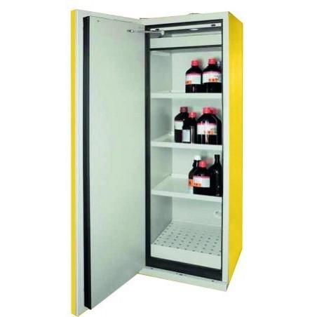 Armoire de stockage produits inflammables L900 Jaune
