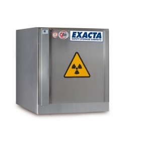 Armoire sous paillasse stockage inox produits inflammables radioactifs