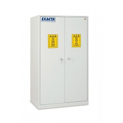 Armoire de stockage pour produits chimiques et corrosifs 2 portes