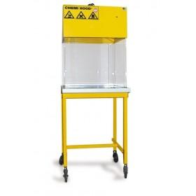 Hotte chimique à raccordement