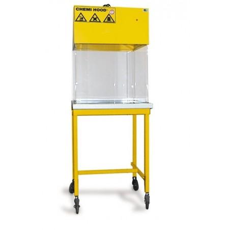 Hotte chimique à raccordement L600