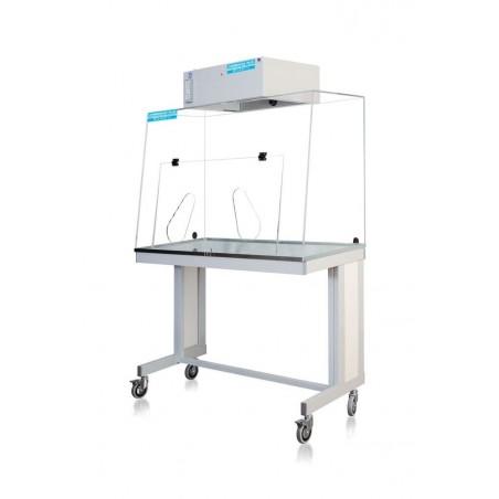Hotte ventilée à filtration moléculaire L1200