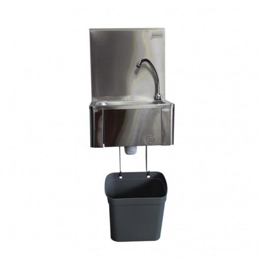 Poubelle pp pour lave mains avec son support de fixation - Credence pour lave main ...