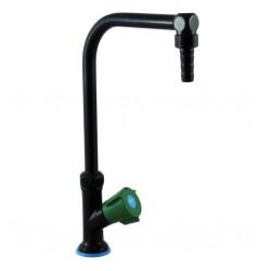 Chandelier à un robinet sur table avec bec fixe ou orientable - Sanifirst