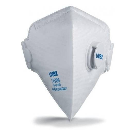Masque Uvex Silv-Air 3110 lot de 15