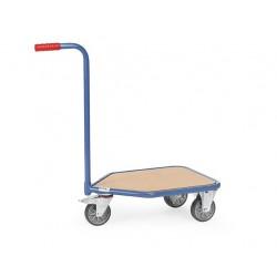 Chariot col de cygne FETRA plateau mélaminé Capacité 200 kg