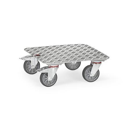 Plateau roulant FETRA aluminium