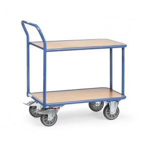 Chariot à 2 plateaux FETRA charge 400 kg