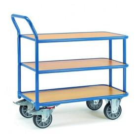 Chariot à 3 plateaux FETRA charge 400 kg