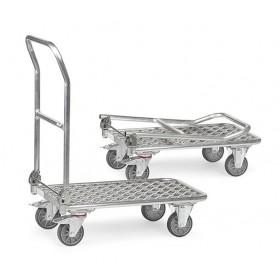 Chariot FETRA pliable en aluminium