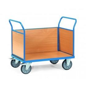 Chariot FETRA à 3 ridelles