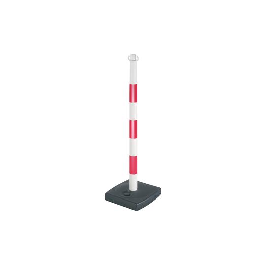Lot de 6 poteaux signalisation en PVC