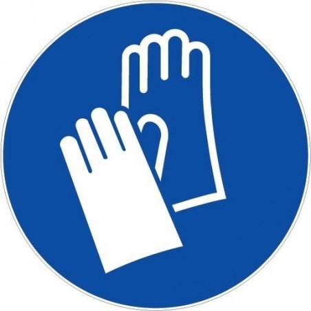 Gants de protection obligatoires