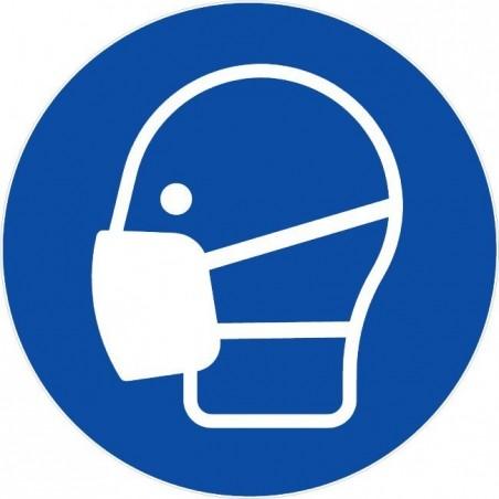 Masque de protection obligatoire
