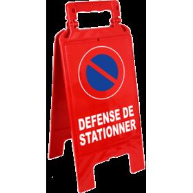 Chevalet défense de stationner