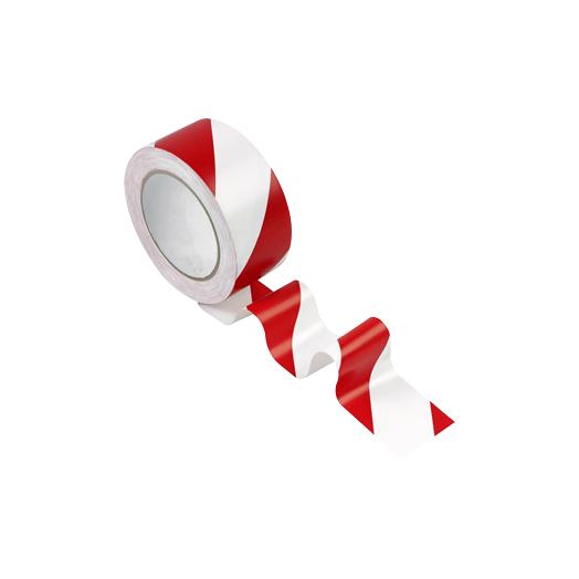 Ruban adhésif rouge et blanc