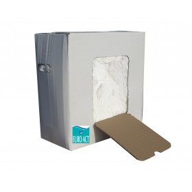 Essuyage blanc tee-shirt coton 10 kg