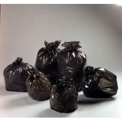 Sac poubelle 130 L lot de 5 rouleaux de 20 sacs