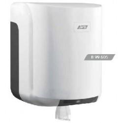 Distributeur d'essuie mains pour bobine maxi à dévidage central