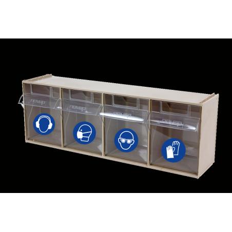 Blocs rangement EPI 4 tiroirs