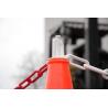 Bouchon crochets pour cône de chantier lot de 10