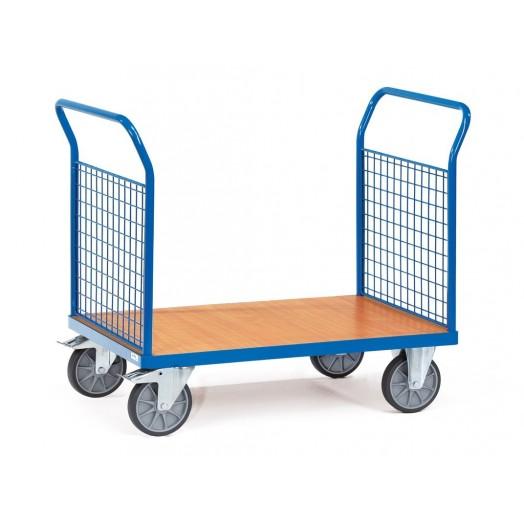 Chariot FETRA à ridelle en treillis métallique