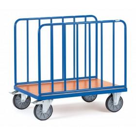 Chariot FETRA à ridelles latérales en tube