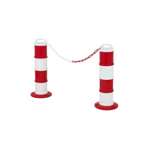 Kit de 2 balises modulables Rouge/Blanche