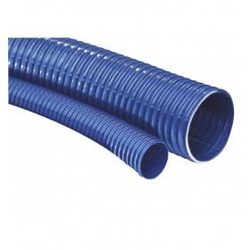 Gaine ventilation PVC semi-rigide