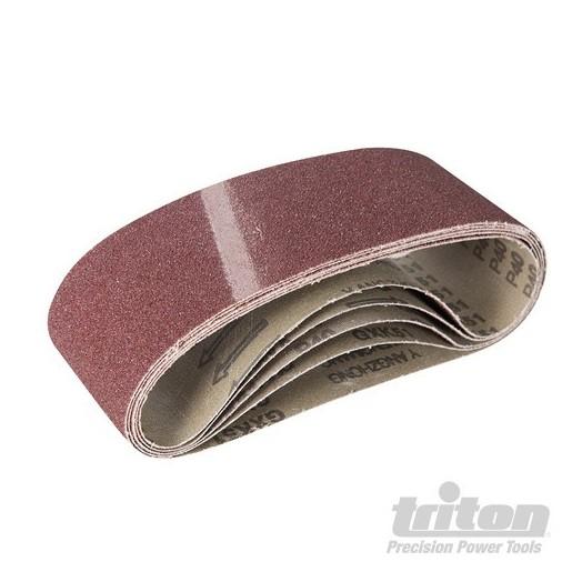 5 bandes abrasives ponceuse à bande 76 mm