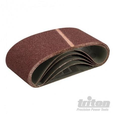 5 bandes abrasives ponceuse à bande 100 mm