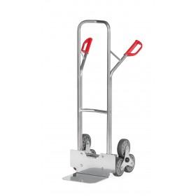 Diable aluminium 200 kg 3 roues escalier