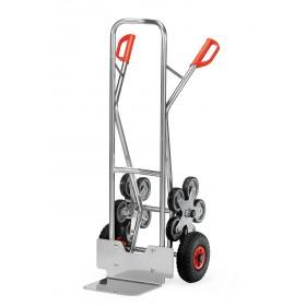 Diable aluminium 200 kg 5 roues escalier
